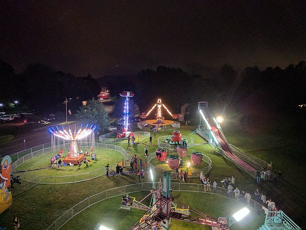 Nighttime Aerial Carnival