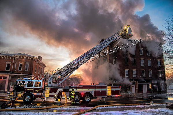 New Britain, CT 2nd alarm 408 Arch St. vacant building