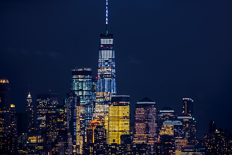 One World Trade Night View