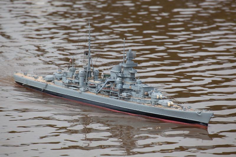David Reith, German Heavy Cruiser, Prinz Eugen, SRCMBC, Solent Radio Control Model Boat Club