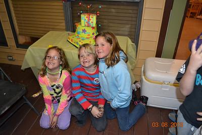 Triplet 8th Birthday