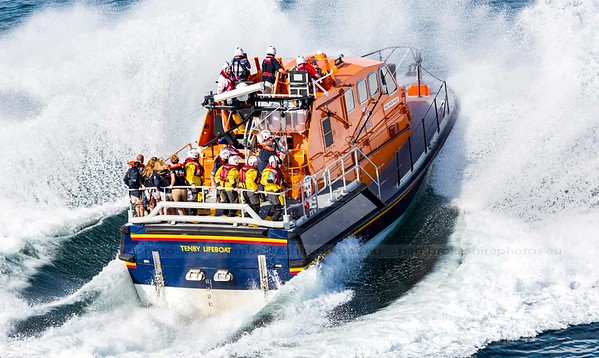Tenby RNLI Open Day, 2015
