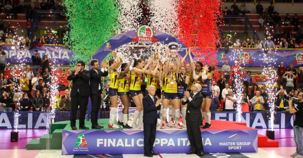 Coppa Italia A1f: Premiazioni