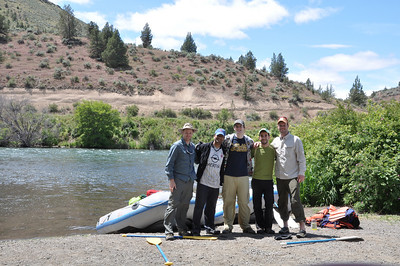 2010 - Rafting trip on the Deschutes River Oregon June