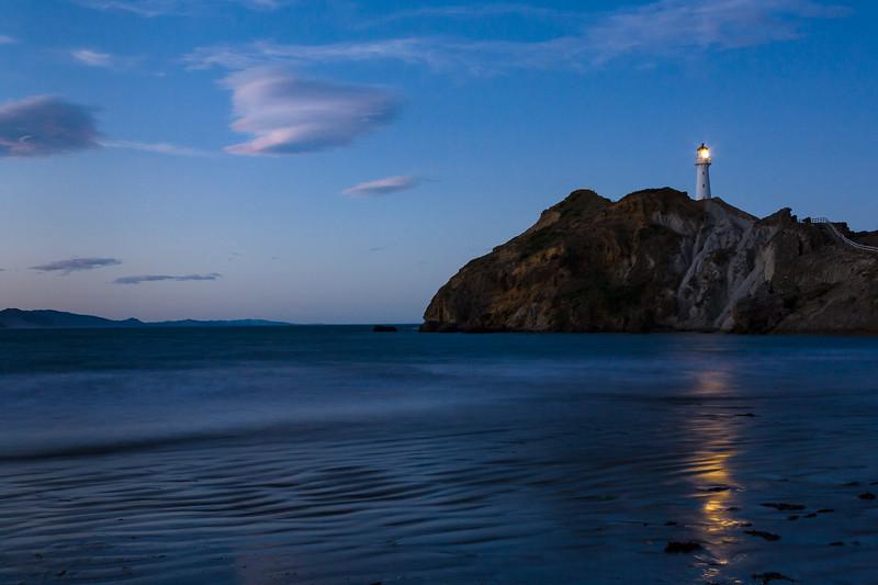Castlepoint Lighthouse, North Island, New Zealand
