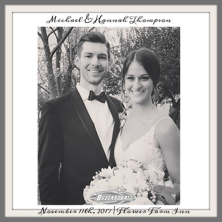 NOVEMBER 11TH, 2017 | Michael and Hannah Thompson