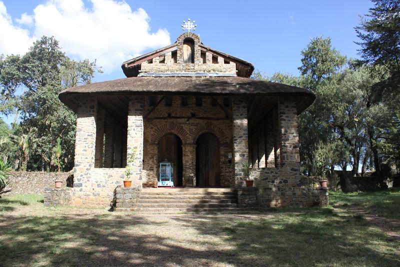 Debre Birhan Selassie Trinity church 1682