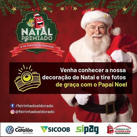 Videos Promoção Papai Noel na Feirinha do Eldorado