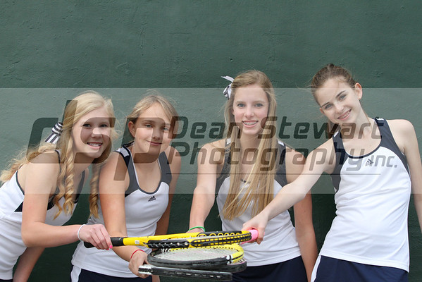 Holy Trinity Girls Tennis 2-9-12