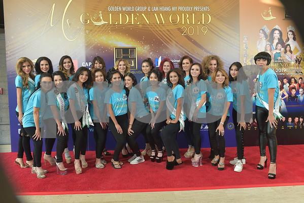 Miss Golden world