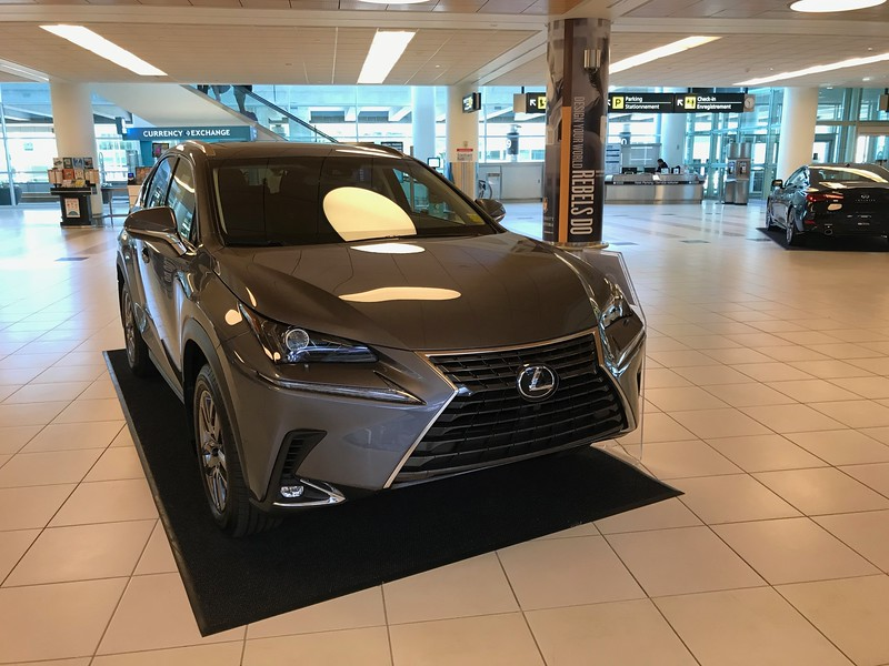 I wanted to see what the Canadian Lexus SUV looks like.