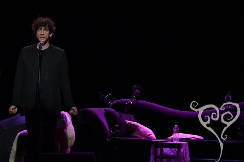Neil Gaiman Amanda Palmer and Neil Gaiman play Moore Seattle, WA Nov 9, 2011