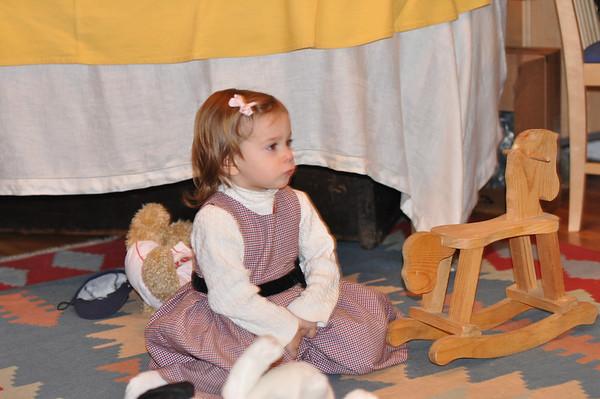 2009 Sophia meets Santa