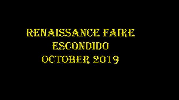 2019 Renaissance Faire