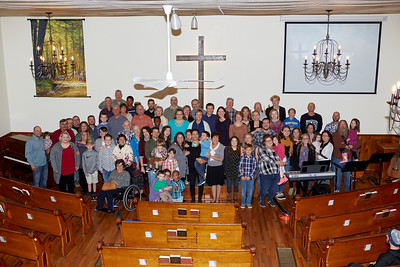 BBCC Congregation with Grace