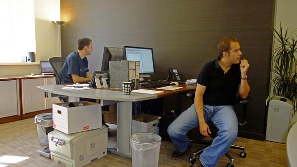 Office in September 2009