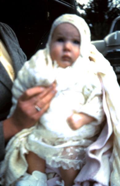 1960-9-25 (2) Nola 3 mths @ Christening.JPG