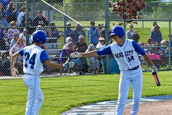 MS Baseball District 111 at Beal City
