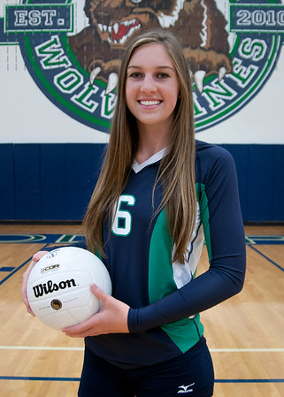 2016 WHS Varsity Volleyball Individual photos