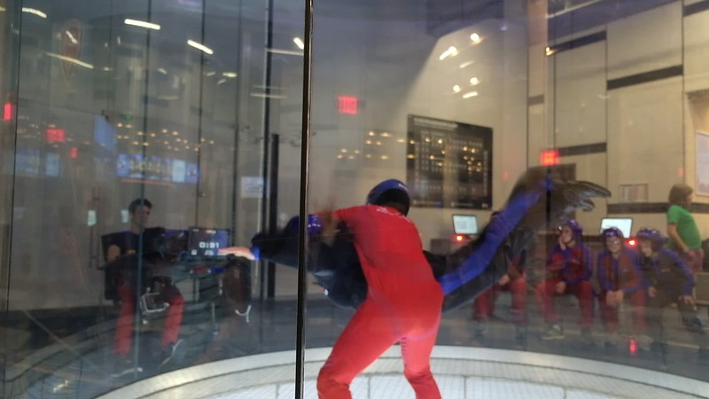 20171006 260 iFly indoor skydiving - Charlotte.MOV