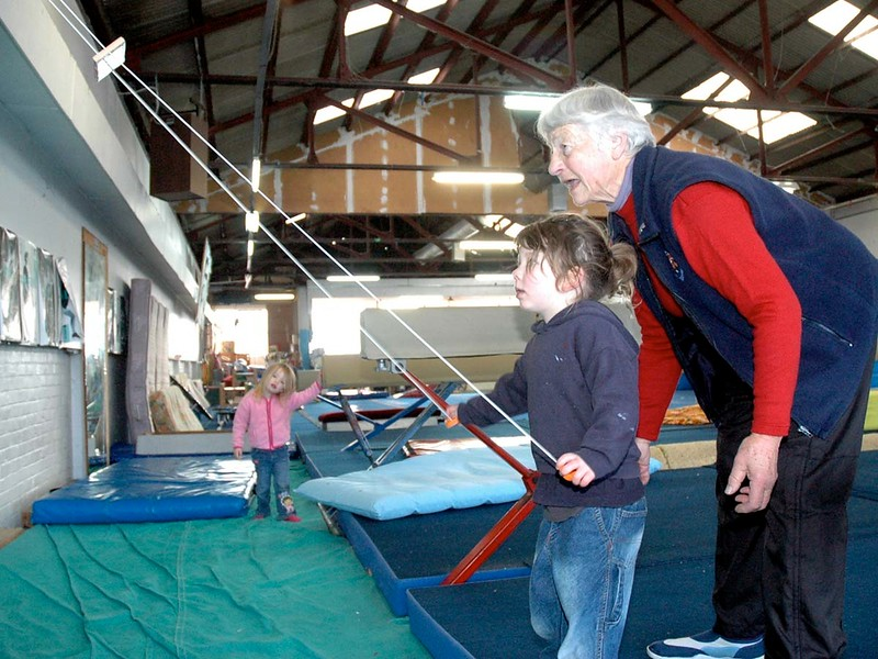 Dunedin Gymnastics Centre - Nola Paterson - photos for her book