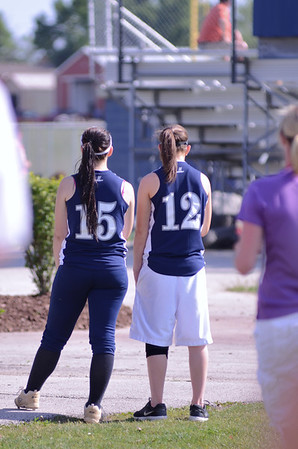 Oswego East Varsity Girls Softball Vs Minooka 2012