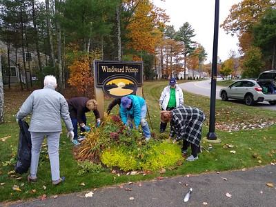 Windward Pointe Fall Cleanup 2019