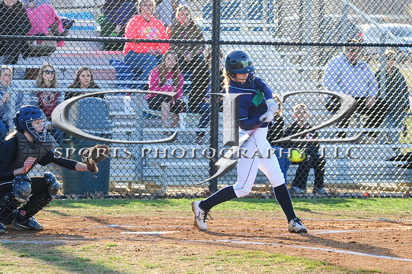 3-31-2014 Dominion at Woodgrove Softball (Varsity)
