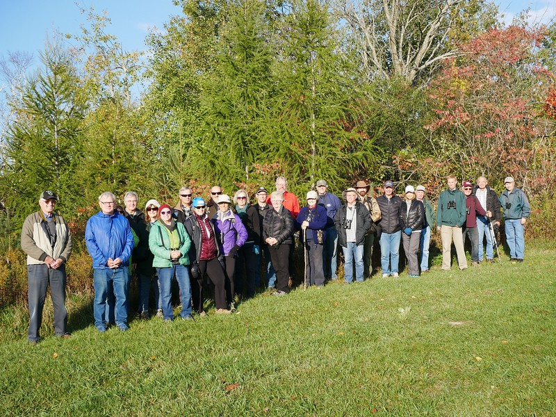 Group of 25 naturalists from PFN and WBFN