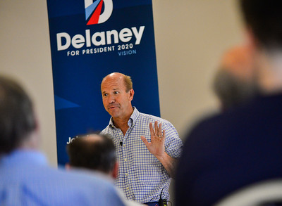 Rep. John Delaney visits Keene - 070219