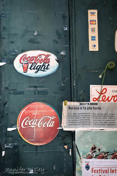 Coca-Cola Stickers