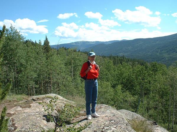 Whitney Lake Hike - 2001