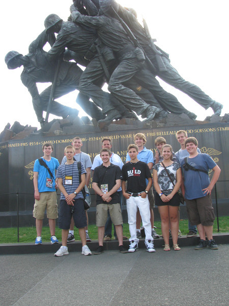 Cabot and his dist. 1, 2, 4 & 6'ers: Back Row--Jon, Nick, Cabot, Luke, Chris, Ian. Front Row--Peter, Chris, Connor, Whitney, Danny