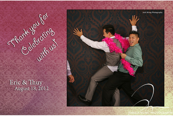 Thuy & Eric's Fashion Photo Booth