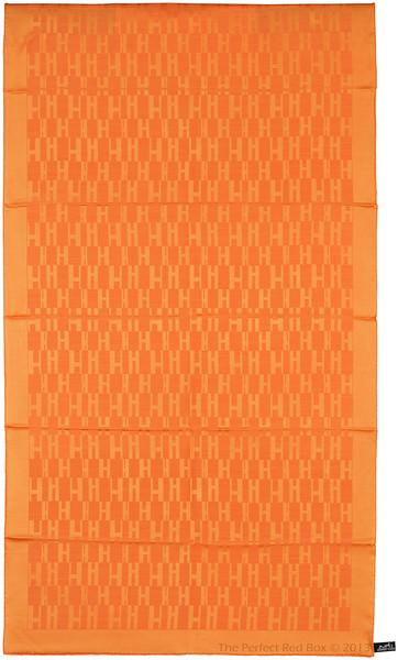 Grand H - Scarf Faconne - 75 x 180 cm - Orange - NWCT - Ref 1309231700