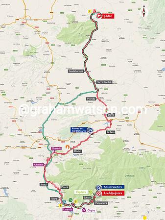 Vuelta a España stage 7: Jodar > La Alpujarra, 191kms