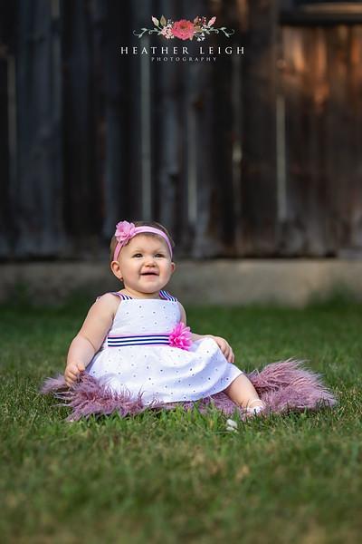 Eliana 9 Month Milestone
