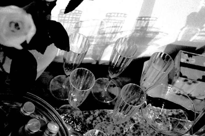 glassware bw