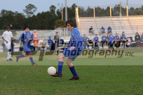 Heritage JV Soccer 1-13-12