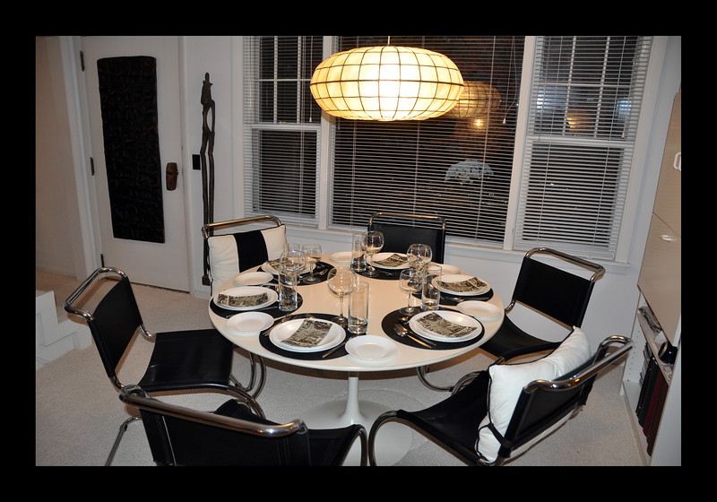7. Dining end of Living Area with picture window overlooking front yard.JPG