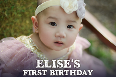 Elise's 1st Birthday 11/26/17