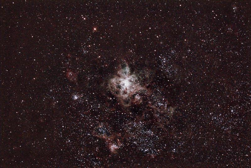 Caldwell 103 - 30 Doradus Tarantula Nebula - 18/12/2020 (Processed stack)