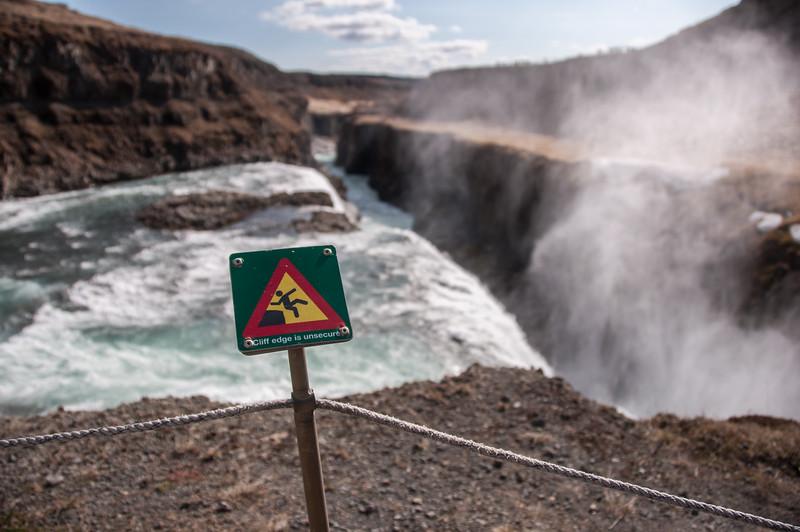 2016.05.21 - Reykjavik, Iceland. Gullfossi, the Golden Waterfall.