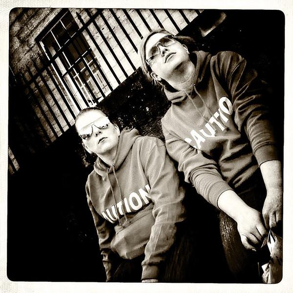 Caution # 2 - Edinburgh - Street Portrait