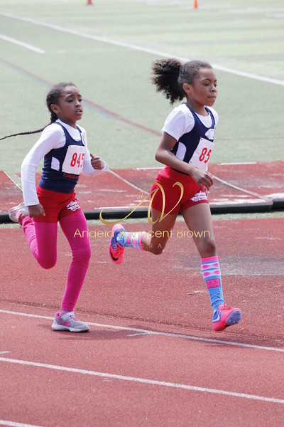 Champs: 8 & Under Girls 800M