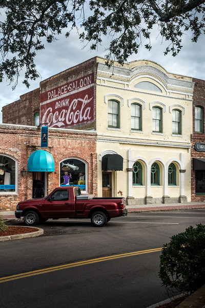 FL, Fernandina Beach - Coca-Cola Wall Sign