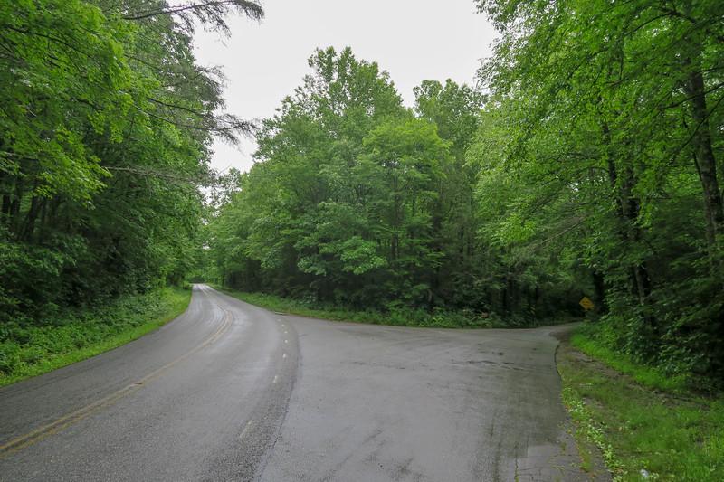 U.S. 276 @ Yellow Gap Road (F.R. 1206) -- 3,340'