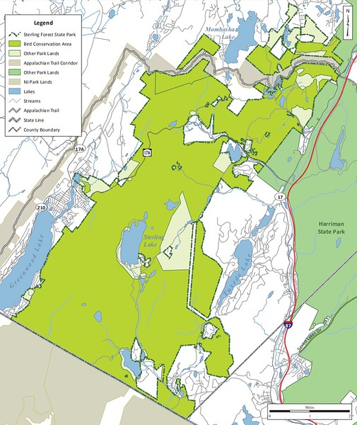 Sterling Forest State Park (Bird Conservation Area)