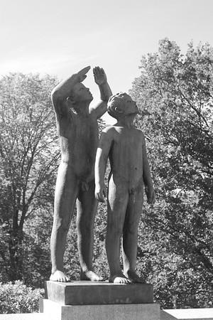 Oslo Vigelandsparken 09022018