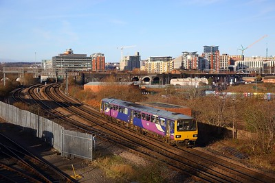 Railways around Leeds